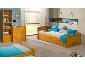 Detská drevená posteľ Patryk 2