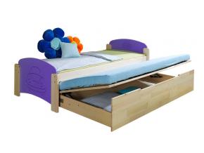 Detská posteľ s prístelkou Jaš 2