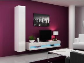 Obývacia stena Vigo IX new biela-biela