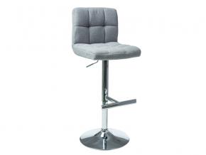moderna siva barova stolicka C105 siva latka