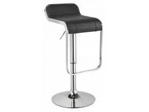 Barová stolička C-621 čierna