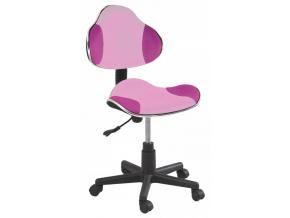 Detská stolička Q-G2 látka ružová