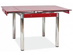 Jedálenský stôl GD-082 červený