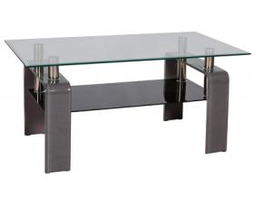 Konferenčný stolík STELLA / sivá