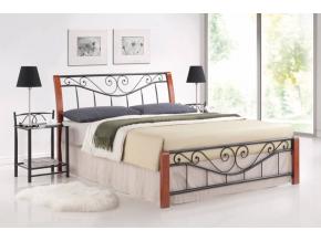 Manželská posteľ PARMA / 160 čerešňa