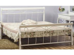 Manželská posteľ VENECJA biela 160x200