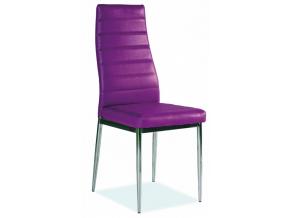 Jedálenská stolička H-261 fialová