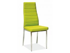 Jedálenská stolička H-261 zelená