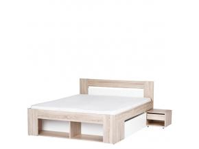 Manželská posteľ s nočnými stolíkmi Milo 08