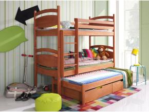 Detská poschodová posteľ Cezary
