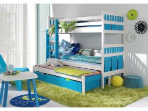 Detská poschodová posteľ Maksymilian