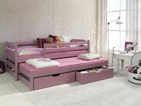 Detská posteľ s prístelkou Marcin II