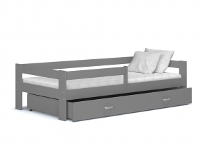 detska postel HUGO siva