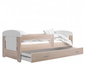 Detská posteľ Filip s úložným priestorom / Dub sonoma