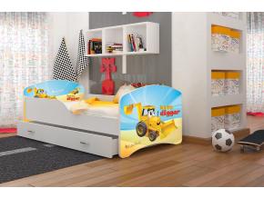 detská posteľ Igor bager 04
