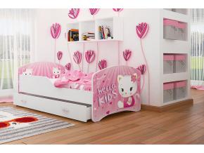 detská posteľ Igor hello kitty 08 so zásuvkou