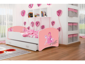 detská posteľ Igor princezná 09 so zásuvkou