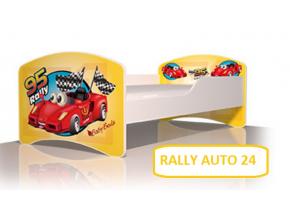 Detská posteľ Igor Rally auto 24
