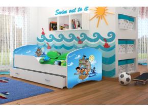 detská posteľ Igor piráti 12
