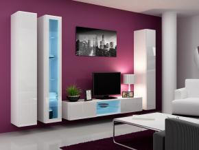 Obývacia stena Vigo 17 biela-biela