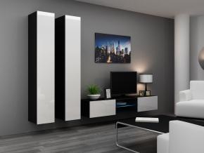 Obývacia stena Vigo 19 čierna-biela