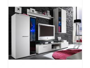 Obývacia stena SALESA / biela
