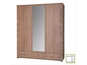 Vešiaková skriňa so zrkadlom GRAND 02 / 3D3S