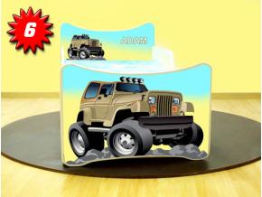 Detská posteľ SMB Jeep 6