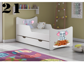 Detská posteľ SMB Dinosaurus 8