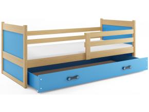 Detská posteľ RICO 1 / BOROVICA 190x80