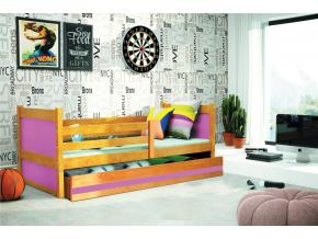 Detská posteľ RICO 1 / JELŠA 190x80