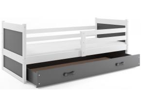 Detská posteľ RICO 1 / BIELA 200x90