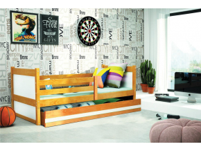 Detská posteľ RICO 1 / JELŠA 200x90
