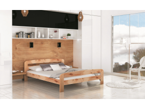 drevena manzelska postel DALLAS borovica
