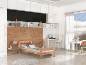 drevena jednolozkova postel DALLAS borovica