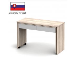 PC stôl VERSAL NEW dub sonoma svetlý / biela