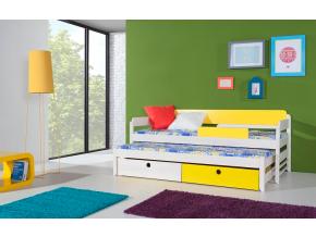 Detská drevená posteľ NATU I