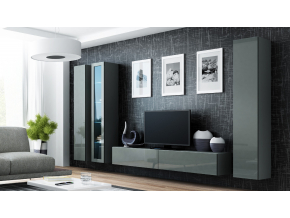 Obývacia stena VIGO II sivá