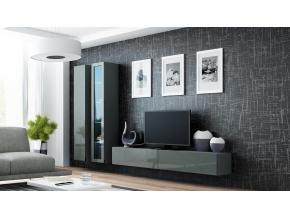 Obývacia stena VIGO III sivá