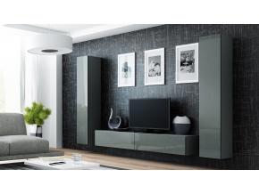 Obývacia stena VIGO IV sivá