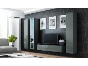 Obývacia stena VIGO 15 sivá