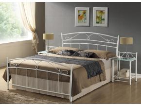 Manželská posteľ SIENA 120 biela