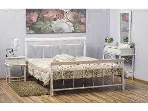 Manželská posteľ VENECJA biela 120x200