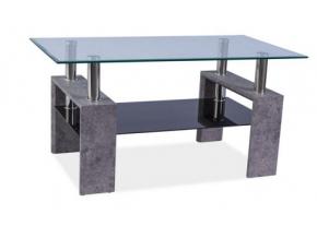 Konferenčný stolík LISA II / sivý kameň