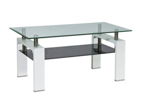 Konferenčný stolík LISA II / biela