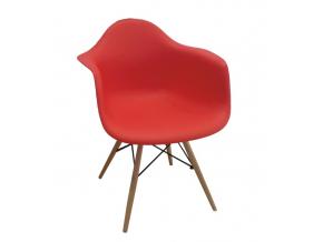 Stolička DAMEN / červená