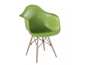Stolička DAMEN / zelená