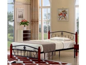 Kovová manželská posteľ MAGENTA / 140x200
