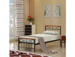Jednolôžková kovová posteľ MORENA / 90x200