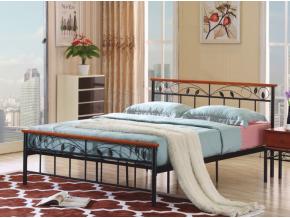 Kovová manželská posteľ MORENA / 160x200